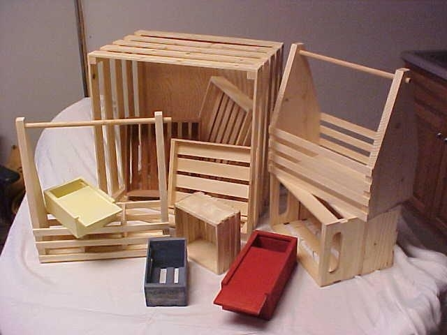 Wood crates soap molds soap cutters for Craft crates